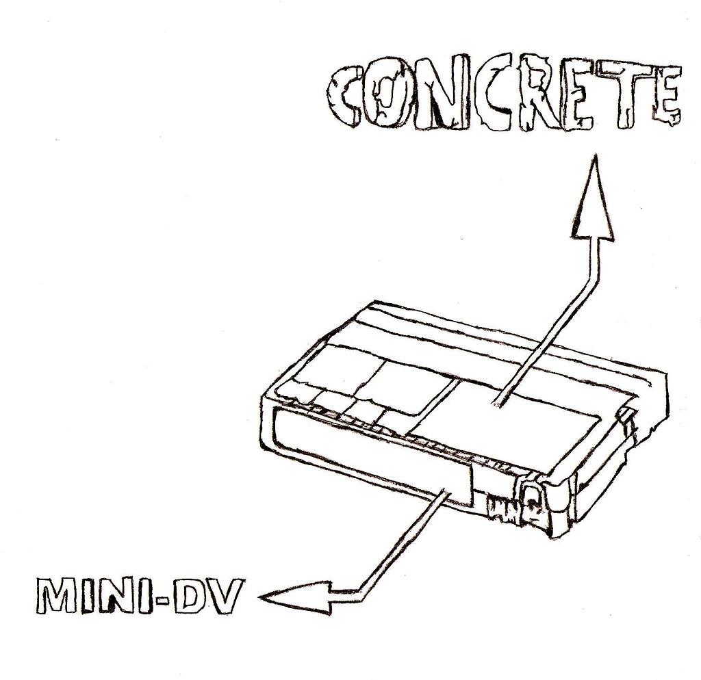 Mini-DV Concrete(t-shirt)