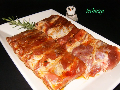 costillas al horno-adobadas
