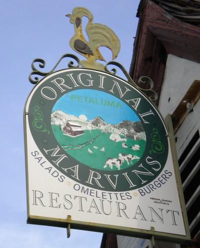 Original Marvins Sign