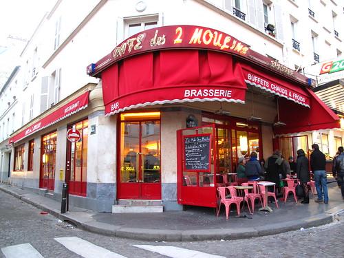 Montmartre: Amélie's cafe