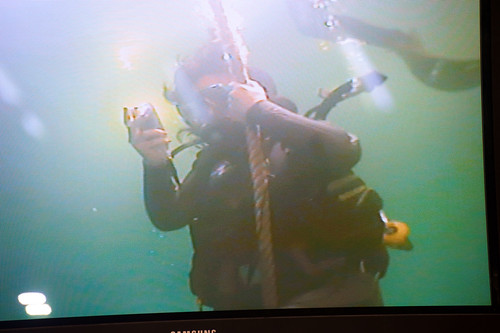 Underwater tweet