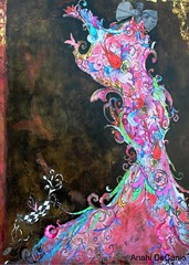 Mardi Gras in Bloom...ode to New Orleans (MY PINK SOAPBOX) Tags: carnival pink blackandwhite woman abstract floral collage painting katrina mujer louisiana colorful colours mixedmedia femme neworleans mulher fuchsia surreal sensual peinture hurricanekatrina carnaval donne bella gown mardigras anahi pintura empowerment fantasyart nuevaorleans rosado figurativeart mysterywoman misterywoman womanpainter femalepainter fantasywoman artefigurativo fashionart artefemenino yuvaika anahidecanio bocaratonartistsguild femenineart unzippedgallery empowermentforwomen femenineartwork pintoramujer anahiart artyzenstudios anahidecaniolicensingart fashionlicensingart wwwanahidecaniocom