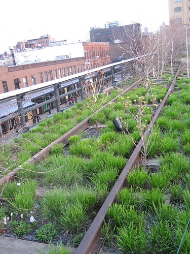 High Line, an elevated garden at Chelsea