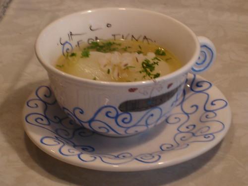 新玉ねぎのスープ in CIRCO