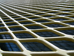 Vanish the pale yellow grate... (Dialed-in!) Tags: life city blue shadow urban color colour macro reflection slr window up yellow oregon canon portland grate vanishingpoint close northwest bright bokeh or horizon vivid cage powershot pale inner northeast bold linearperspective unusualperspective leadinglines g9 unanimous unusualperspectives flickrchallengegroup flickrchallengewinner urbanmacro macromondays dialedin diminishingpoint thechallengefactory unusualviewsperspectives thepinnaclehof tphofweek42