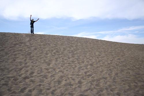 whee! sand dunes!