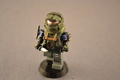 Lego Scale Jun Action Figure (pecovam) Tags: team lego halo reach jun noble pecovam