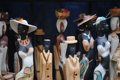Wooden carvings (neonnote) Tags: people bahamas carvings wodden