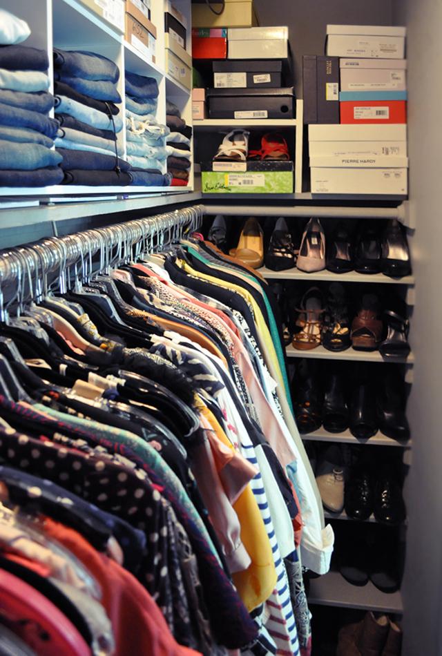 closet - shoe side