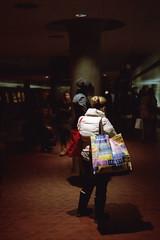 cities (Julian Ortiz photography) Tags: street urban film station bag subway nikon publictransportation metro kodak cities streetphotography subte metrocenter metrostation nikonn90s urbanphotography filmphotography kodakportra160