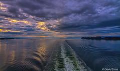 The Wake (buffdawgus) Tags: ocean morning cruise summer seascape alaska clouds sunrise landscape islands wake moody northwest shoreline earlymorning cruising pacificocean innerpassage canon7d canon1585mmusmis lightroom5 topazsw