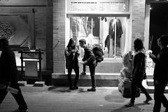 Photographers (sirouni) Tags: street shop night photographers lane  x100s