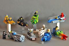 LSB 16x6x6 Groupshot (Chiefrocker9000) Tags: lego contest bikes groupshot speeder lsb glug moc swisslug 16x6x6 legospeederbikes lsbgroupshot