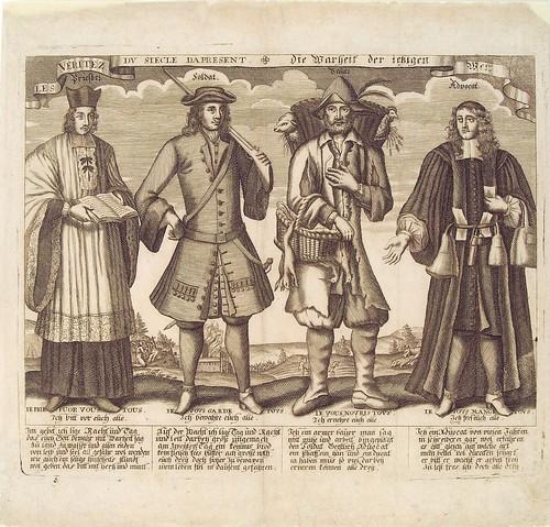 Les Veritez Du Siecle Da Present (1700) (HAB)