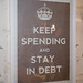Keep Spending and Stay in Debt by Steve Price