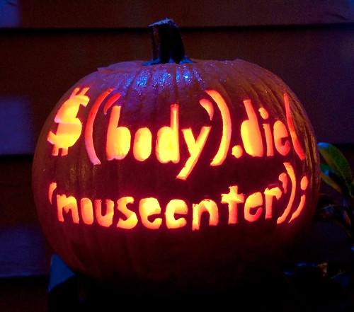 2009 jQuery Halloween Pumpkin