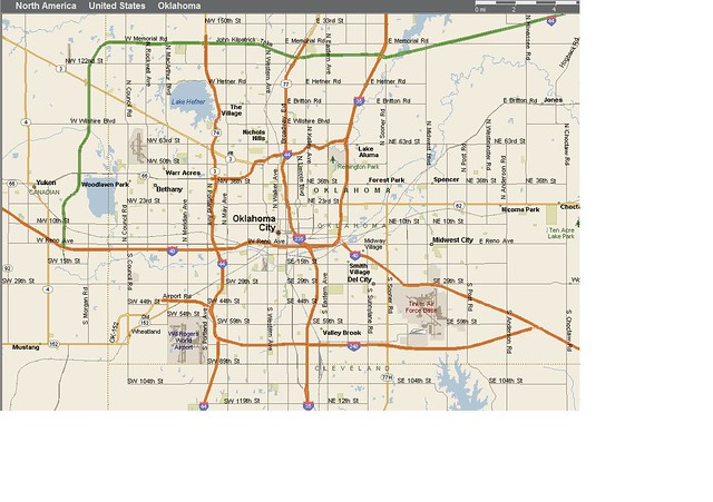 OKC Map