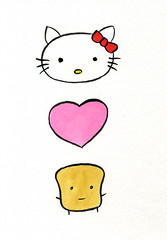 Hello Kitty Loves Mr Toast