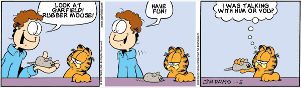 Garfield: Lost in Translation, November 5, 2009