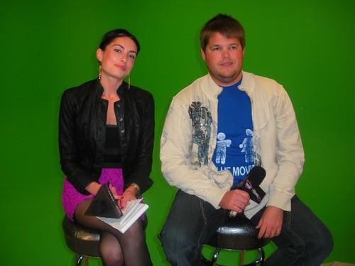 "RealTVfilms Production Stills -- Samantha Gutstadt,  Jareb Dauplaise ...mac ""Frat Party"" Press Junket"