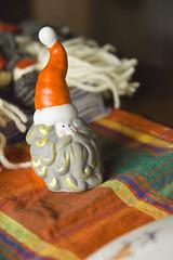 Juleverksted - nissefar av porselen