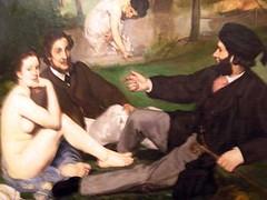 Paris,Muse d'Orsay -Edouard Manet -le Djeuner sur l'herbe(detail) (april-mo) Tags: musedorsay ledjeunersurlherbe orsaymuseum edouardmanet salondesrefuss