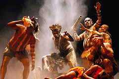 Dance of the Papuans (Tempo Dulu) Tags: indonesia dance lowlight tribal jakarta papua ethnic