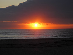 Sunrise over Cocoa Beach, FL