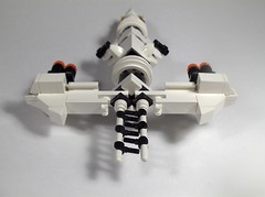 MX-108 Dionysus -front (RJKwest) Tags: lego space microspace microscale