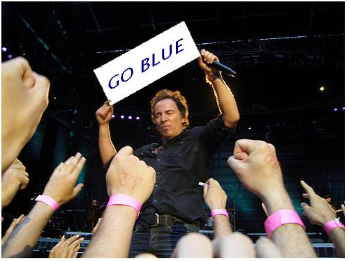 Go Blue Bruce