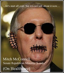 And Speaking for the Republicans..... (Politics for Misfits) Tags: usa corporate us dc washington unitedstates senator tennessee budget monopoly lobby asshole congress health stupid government leader care vote republican minority healthcare economy democrat obama insurance mcconnell senate 2010 corporations jerkoff donothing mitchmcconnell publicoption