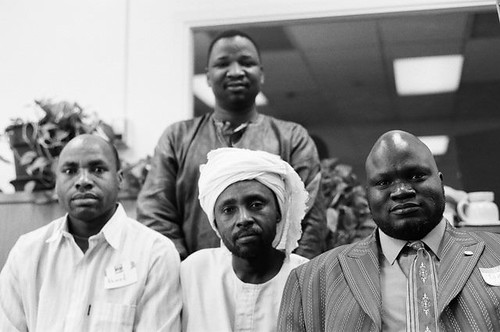 Darfuri and Southern Sudanese leaders