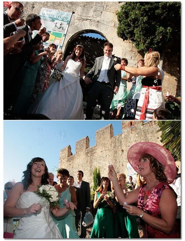 Castle Wedding in Lake Garda