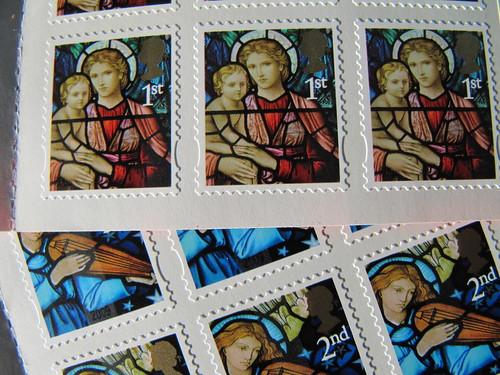 Christmas stamps 2009