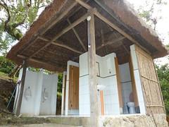The loos at El Retiro Lodge.