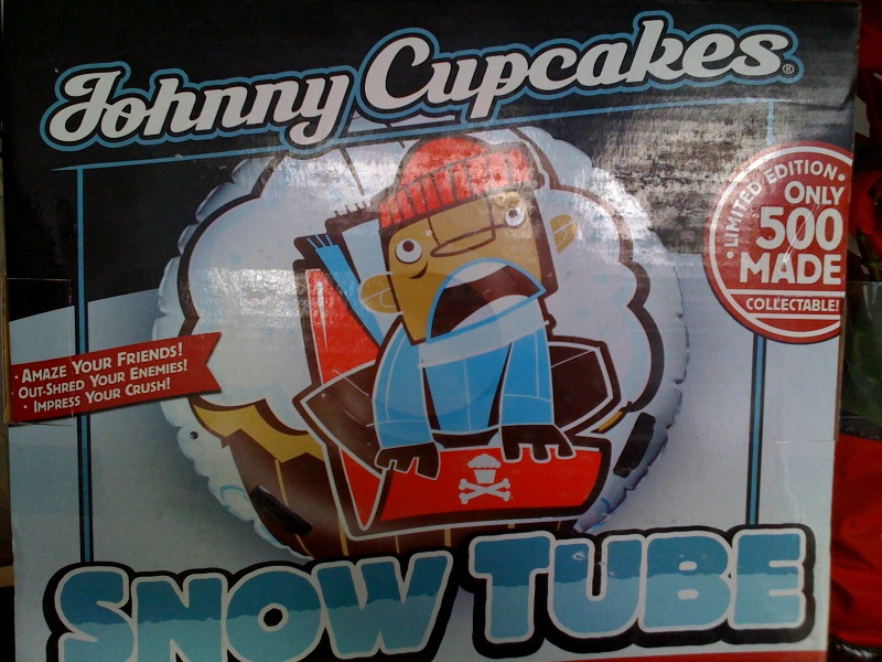Johnny Cupcakes Melrose snow tube