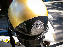 Royal Thai Police Helmet