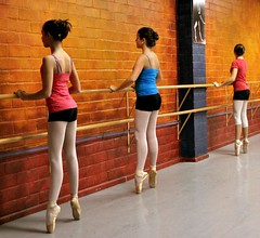 A Shot At The Barre - Explored (chicbee04) Tags: ballet studio class pointe barre balletclass ballerinas pointeshoes enpointe explored prepointe pointeclass ceciyscombinedprepointepointclass ashotatthebarre