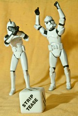 Strip Tease !!! (Heber Garcia) Tags: toy starwars action stormtroopers strip figure tease clone stormtrooper365
