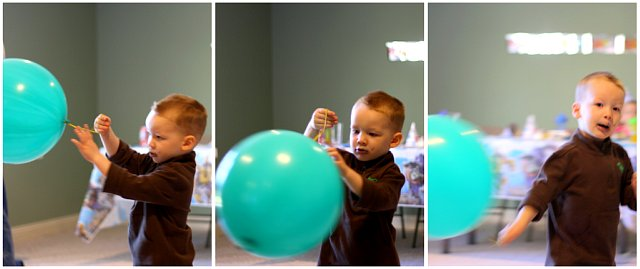 gage and balloon