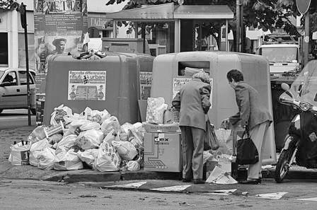 RIFIUTI/UMBRIA. NEL 2008 RACCOLTA DIFFERENZIATA FERMA AL 29,8 PER CENTO. ORVIETO E CITTA' DI CASTELLO FANALINI DI CODA