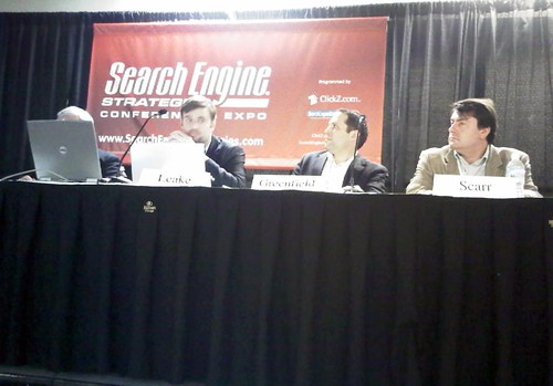 panelists at SES Chicago 2009