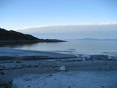 Ytre Forsl in blue (21rosi69) Tags: beach norway strand norge finnmark fjre kvalya forsl kvaloya ytre forsol ytter forsoel ytterforsol ytterforsoel ytterforsl