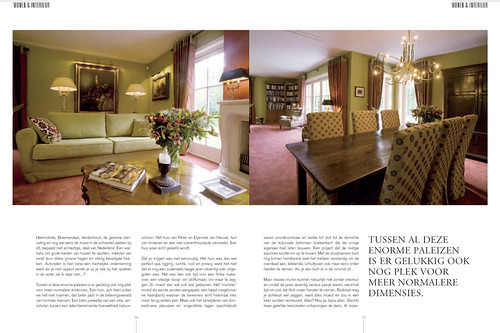 Tulp Magazine - A warm house, pages 3&4