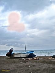 With Love (nasabry) Tags: blue love boat heart oman imissu nasserjabry