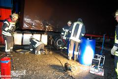 Schneechaos: LKW-Unfälle A3 20.12.09