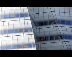 IAC Building (Dreamer7112) Tags: nyc newyorkcity blue windows ny newyork building glass architecture facade nikon chelsea pattern manhattan gehry facades bleu frankgehry highline iac d300 interactivecorp novaiorque dreamer7112 iacbuilding highlinepark  iachq nikond300  interacticecorporation
