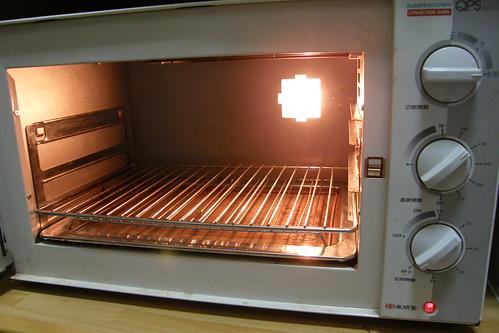 21.先預熱烤箱