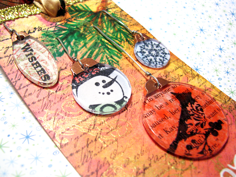 Charm Ornaments Tag :: Close