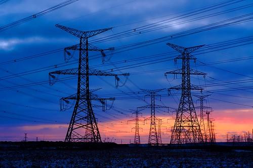 winter sunset snow ontario canada tower gimp electricity mississauga transmission electricitypylon ufraw transmissiontower 8365 2010365 dsc33523edit